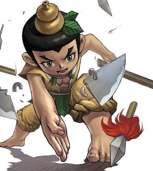 【蛇精狂潮】女子ps自己照片被指酷似动画片《葫芦娃》蛇精走红 .
