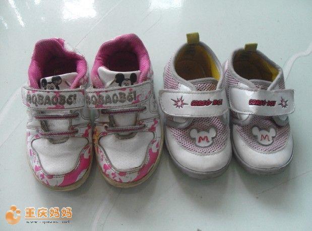 拼两双2 3岁娃儿穿的鞋子,看有人要不