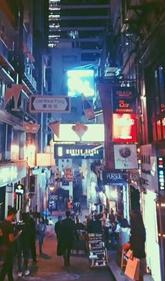 跟着TVB游香港