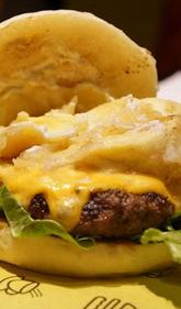 纯正美式汉堡就服你