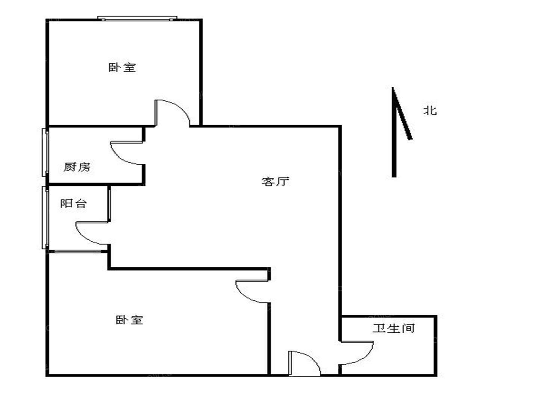 越秀 东风西路 电梯二房 八一希望小学 70平米 浏览: 16