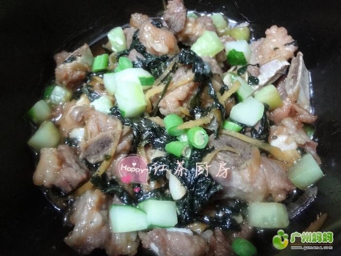 美味家常菜(7)豆豉鸡翅苹果大串烧+鬼婆排骨清炖香草做法的狗肉怎么做好吃图片