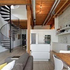 繁杂小复式 迸发loft风格