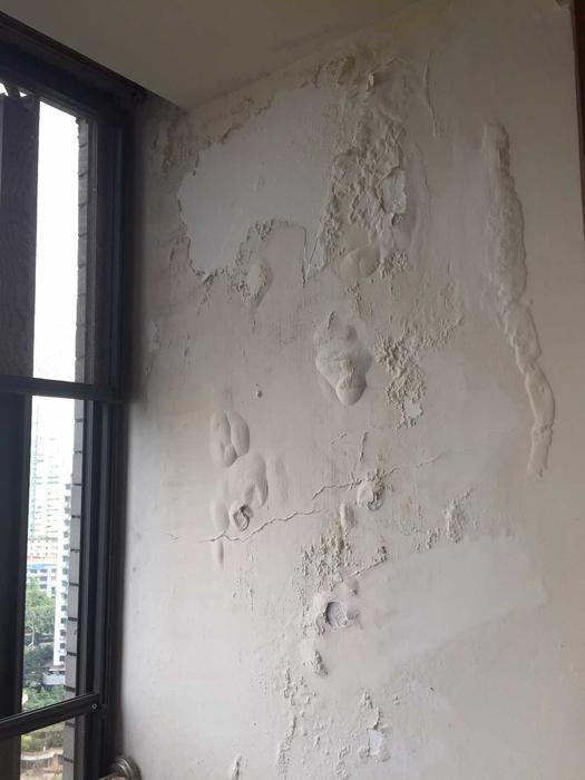 飘窗窗侧渗漏