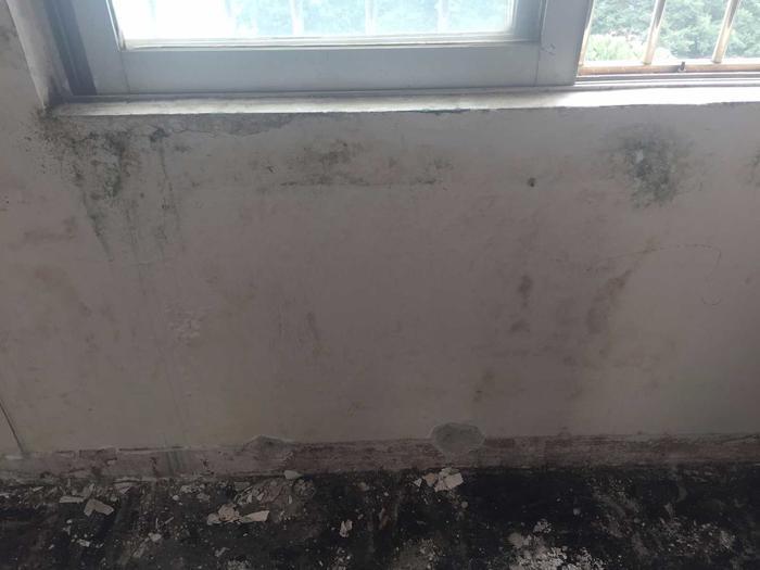 平窗窗台渗漏