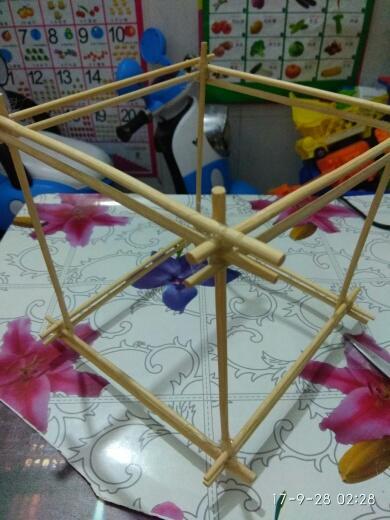 【手工】 全环保材料制作的灯笼