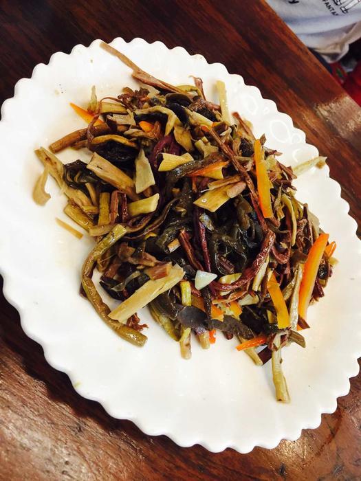 什锦山野菜