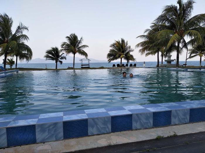 诗巫的泳池