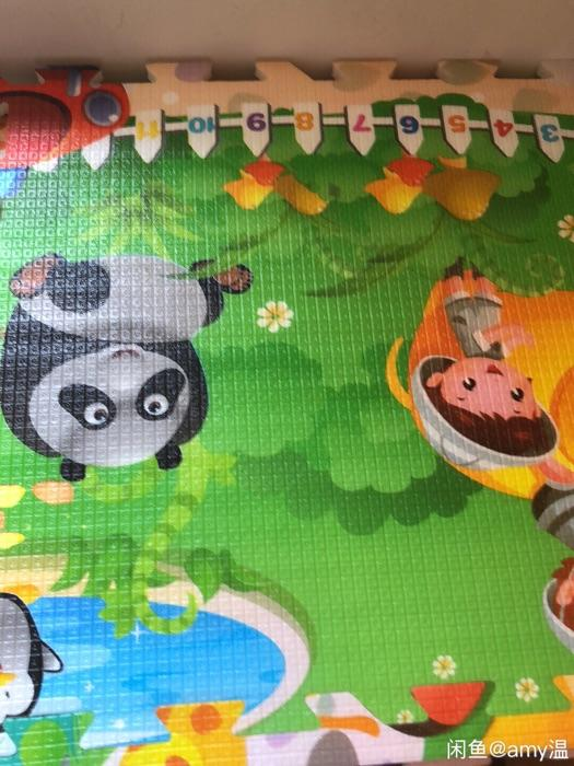 动物水果拼接爬行垫