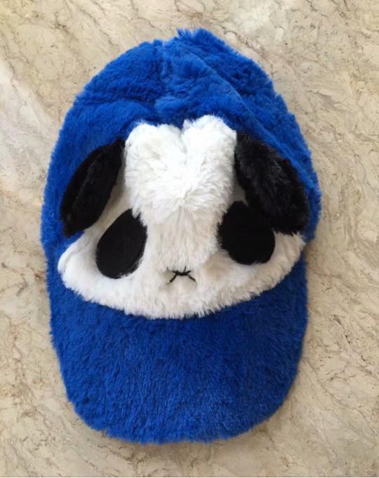5.熊猫毛绒帽,超级可爱,3-8岁小孩适合,全新哦,15元
