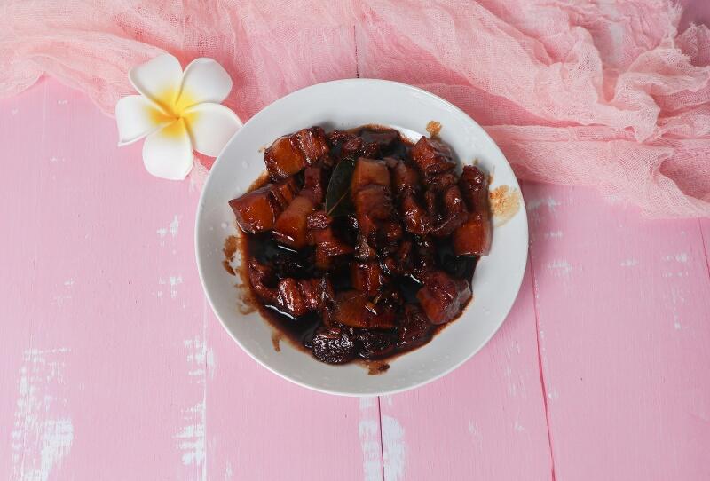 回味无穷香浓红烧肉,跟米饭是绝配!