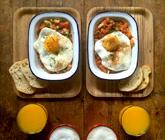 老公做的爱心早餐