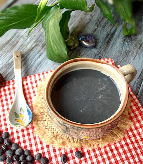 无糖甜黑豆浆