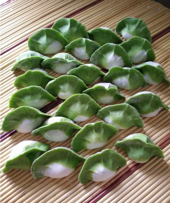 翡翠白菜饺子