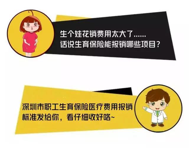 生孩子必看!深圳市生育保险医疗费用报销标准,收藏!