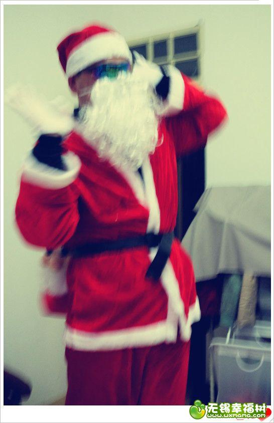 圣诞老人出现过程