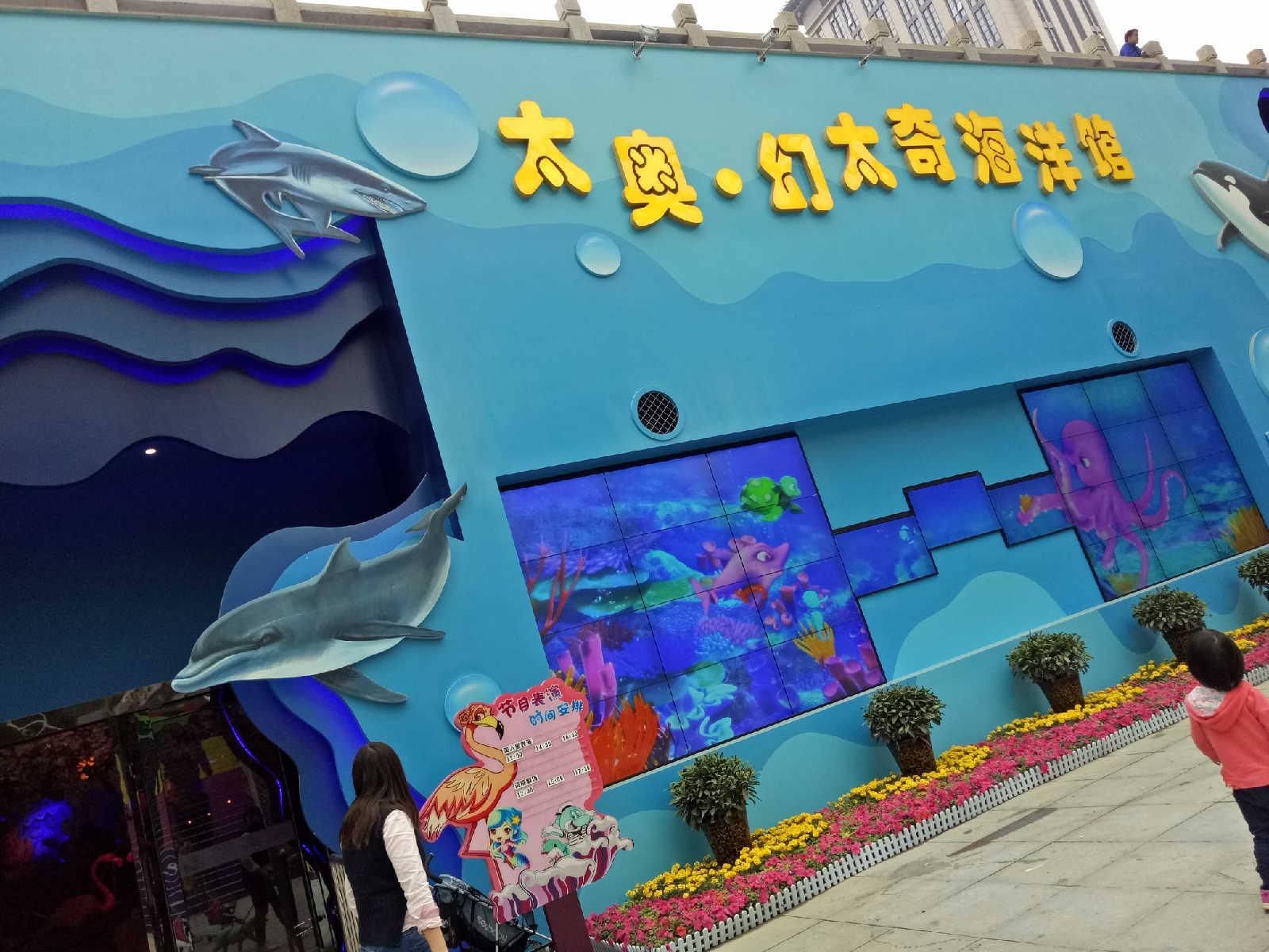 【幻太奇海洋馆】太奥广场海洋馆幸运儿体验,值得大小